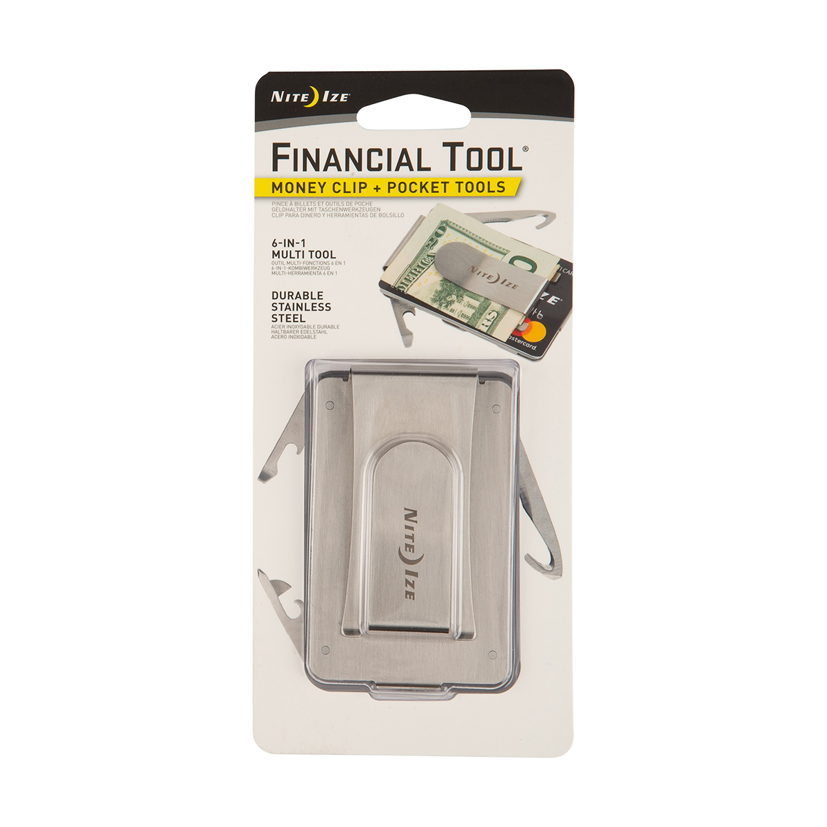 Financial Tool  Money Clip + Pocket Tools