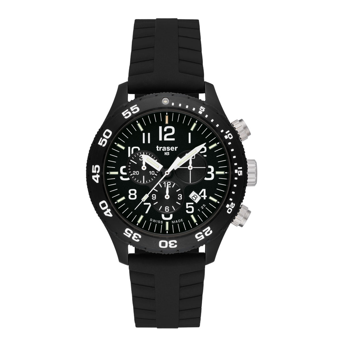 Officer Chronograph Pro / Silicone Band