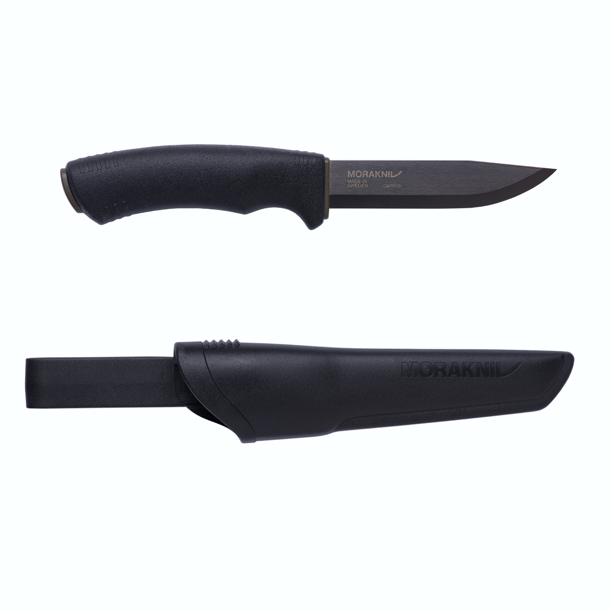 Bushcraft BlackHigh CarbonSteel Outdoor Knife/Clam