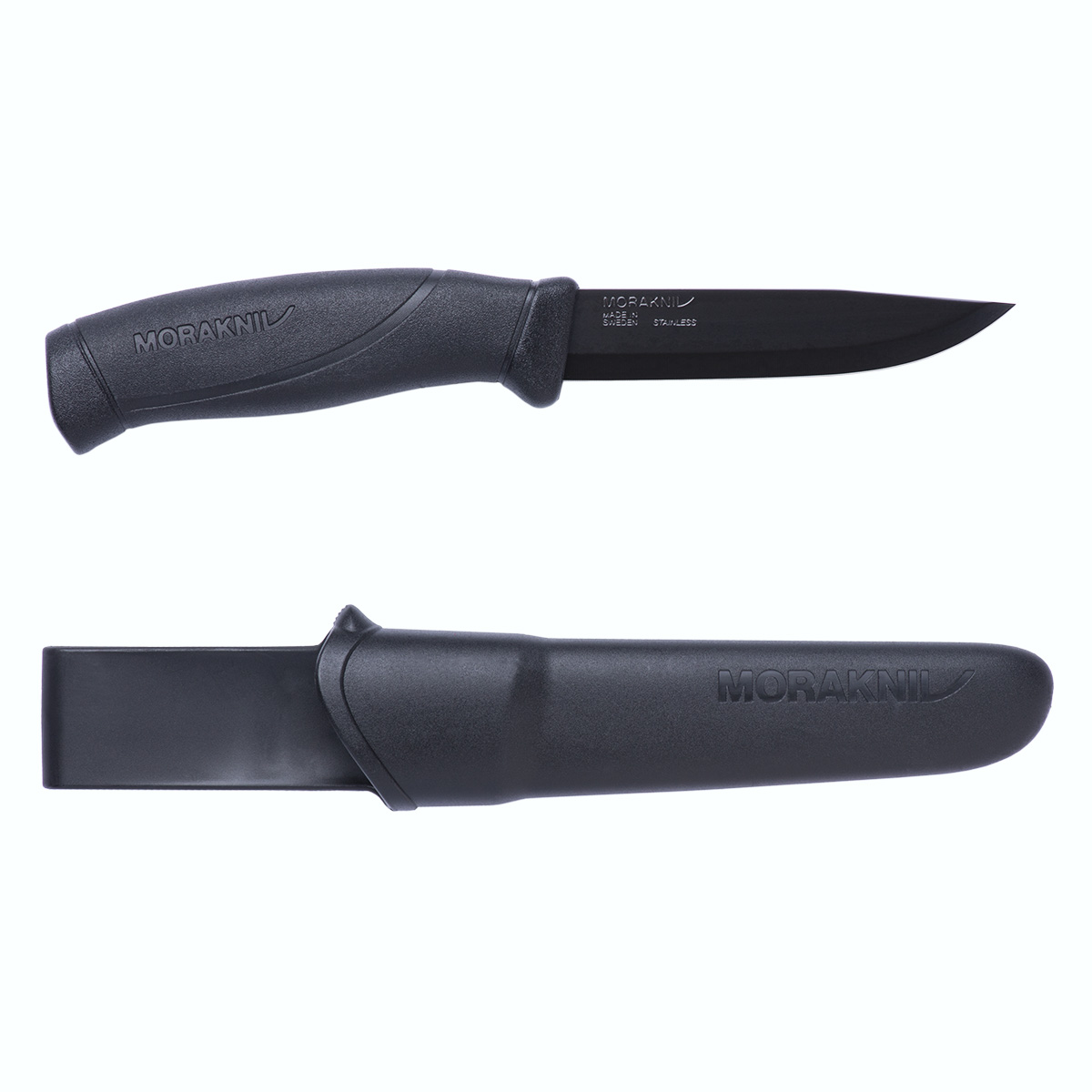 Companion Black Blade Outdoor Sports Knife / Clam