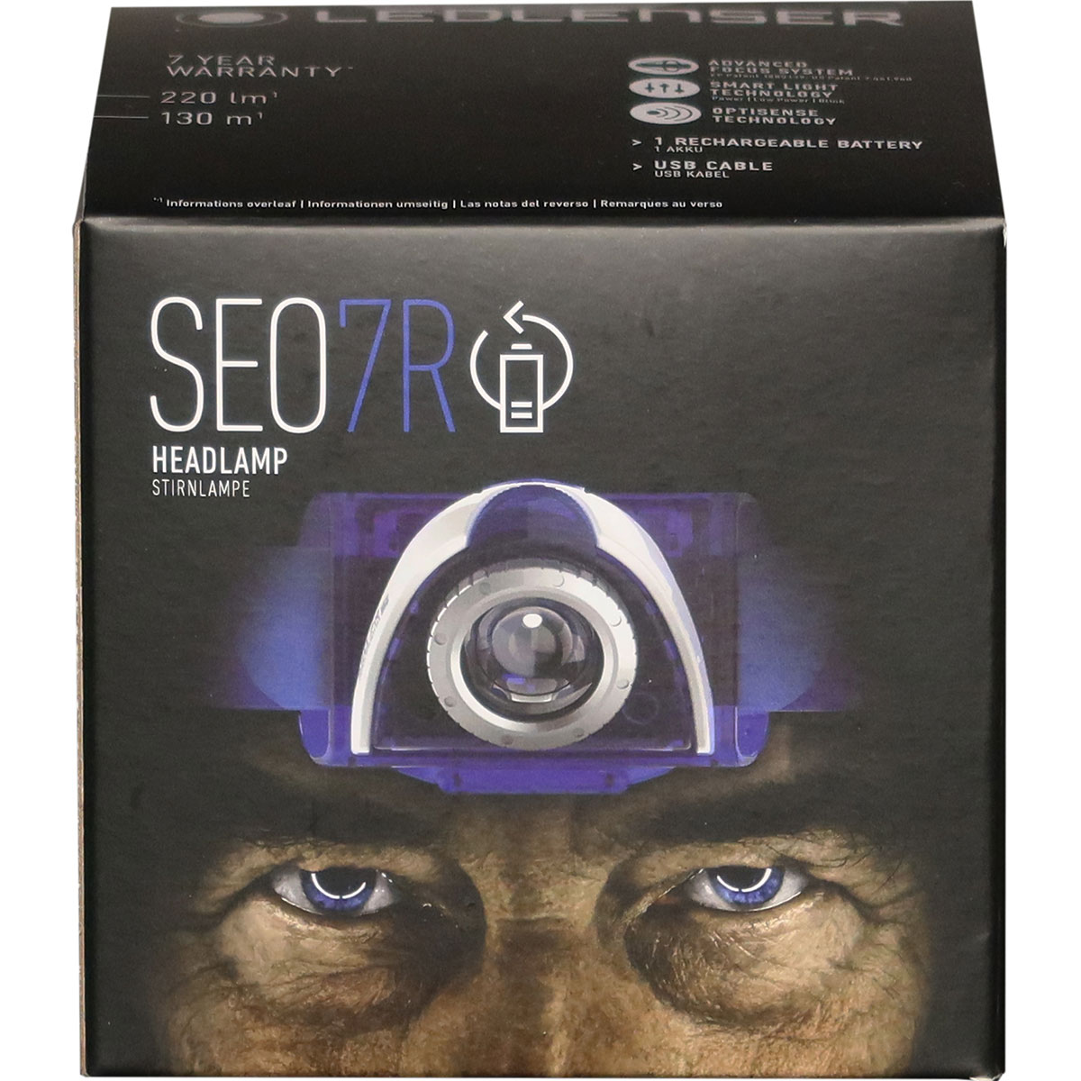 SEO 7R - Blue  / Rechargeable / Box