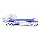KeySmart Key Holder, Alum(Up to 8 Keys) Blue