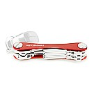KeySmart Key Holder, Alum(Up to 8 Keys) Red