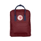Kanken Ox Red - Royal Blue