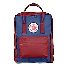Kanken Royal Blue-Ox Red