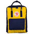 Kanken Navy-Warm Yellow