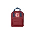 Kanken Kids Ox Red-Royal Blue