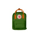 Kanken Kids Leaf Green-Burnt Orange