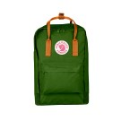 "Kanken 15"" Leaf Green - Burnt Orange"