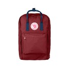 "Kanken 17"" Ox Red-Royal Blue"