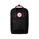 "Kanken 17"" Black - Ox Red"
