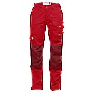 Barents Pro Curved Trousers W Deep Red 28""