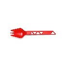 TrailSpork Tritan Red