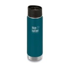 20oz Wide Vacuum Insulated Cafe Cap/Neptune Blue