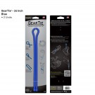 "Gear Tie 24"" 2 Pack - Blue"