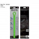 "Gear Tie 24"" 2 Pack - Lime"