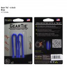 "Gear Tie 6"" 2 Pack - Blue"