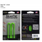 "Gear Tie 6"" 2 Pack - Lime"