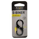 SlideLock Steel S-Biner - # 2 Black