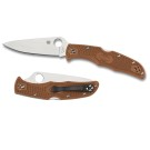 Endura 4 Lightweight Brown Flat Ground-Plain Blade