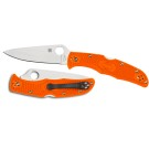 Endura 4 Lightweight Ornge Flat Ground-Plain Blade