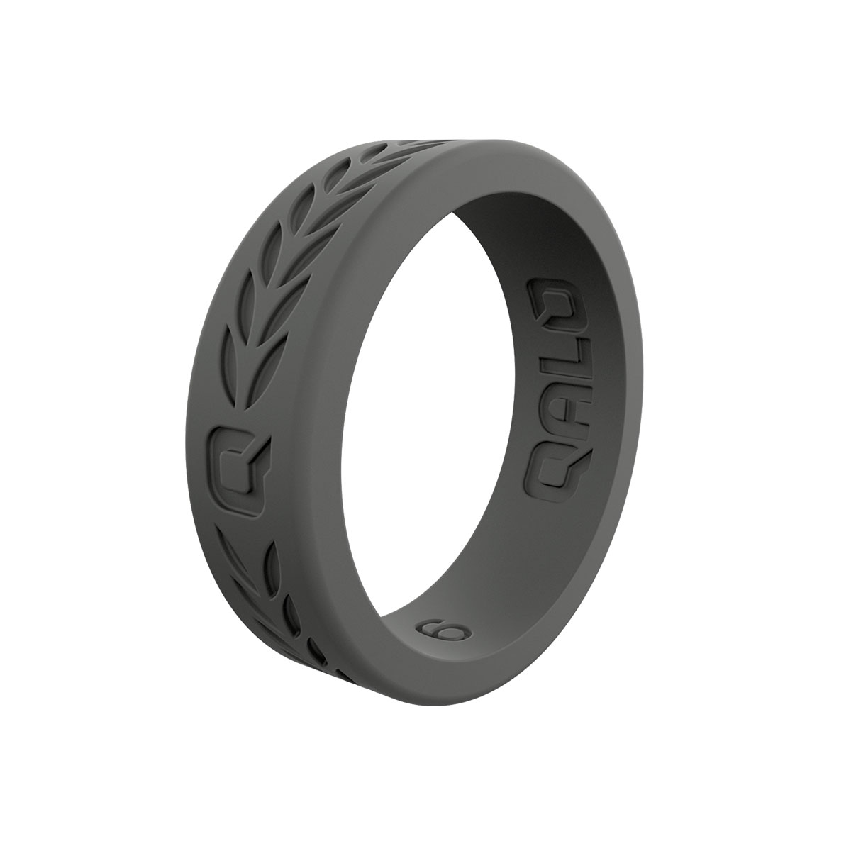 Women's Charcoal Laurel Q2X  Ring Size 8