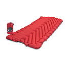 Klymit Insulated Static V Luxe Sleeping Pad - Red