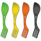 ATKA Spork 4pc 4 colour / Clam