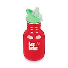 12oz Classic Kid Sippy Cap Mineral Red