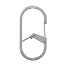 G-Series Dual Chamber Carabiner #3 - Stainless Steel