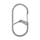 G-Series Dual Chamber Carabiner #4 - Stainless Steel