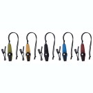 Eldris Neck Knife Colour Mix, Fire Starter Kit